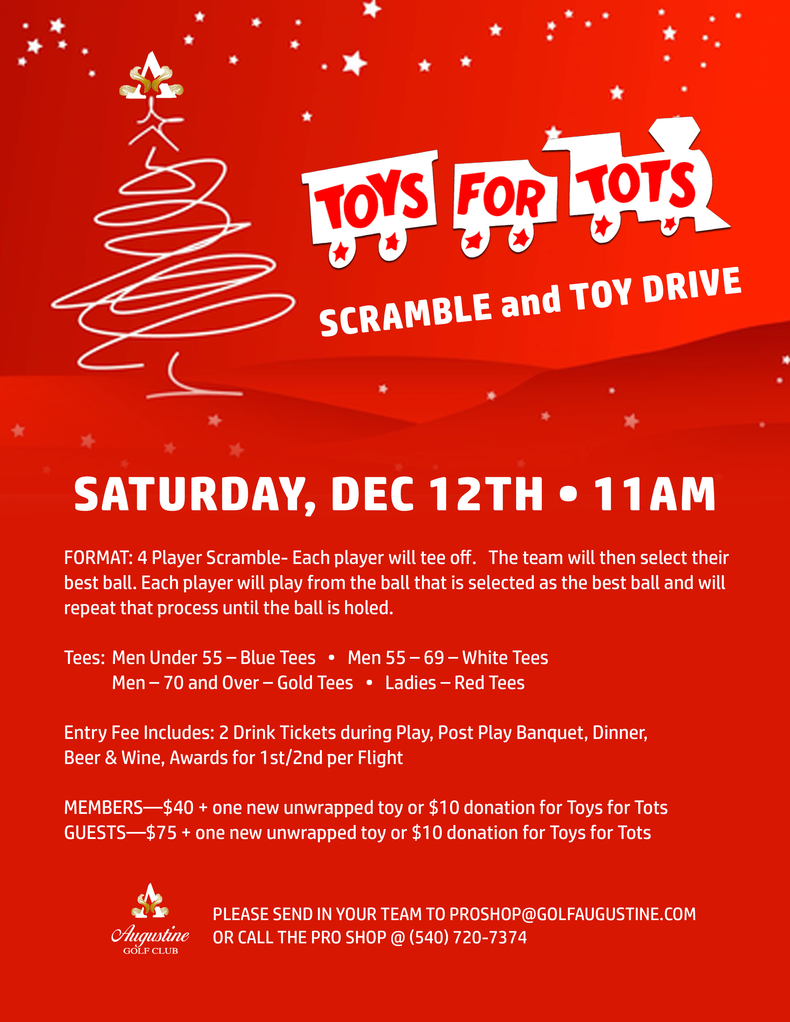 AUG toys for tots 2020